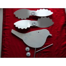Kit weathervane DIY to paint robin