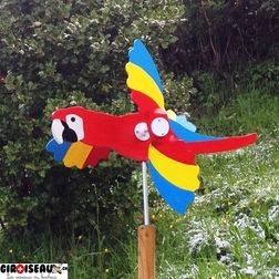Weathervane for garden Parrot